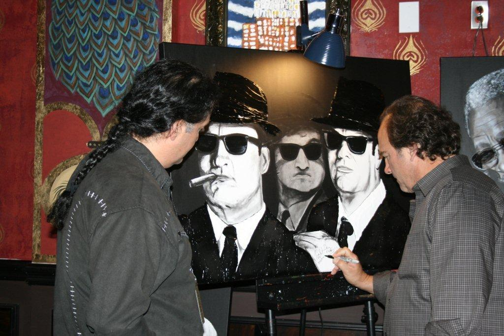 Richard Nunez - Blues Brothers Painting